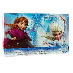 EP Line Adventní kosmetický kalendář Frozen 24 ks