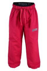 PIDILIDI Dívčí outdoorové kalhoty - růžové
