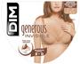 3 - DIM dámská podprsenka D4D63 GENEROUS INVISIBLE LIGHT PADDED BRA tělová 90 C