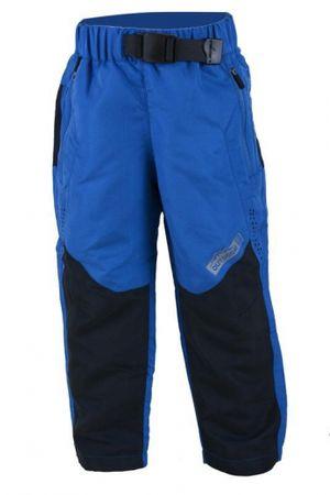 PIDILIDI Chlapčenské outdoorové nohavice s fleecom 140 modré