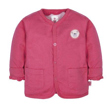 G-mini dziewczęcy płaszczyk Niedźwiadek, 74, różowy