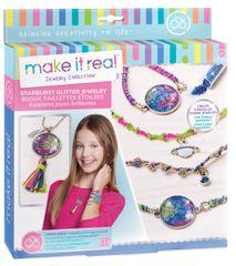 Make It Real Náramky a náhrdelník - třpytivé