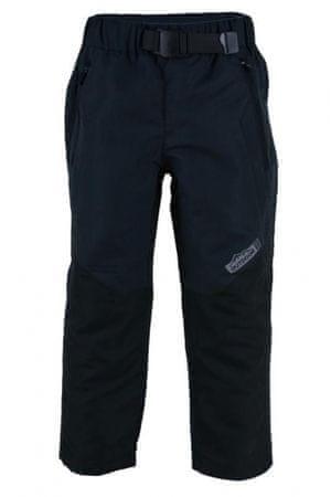 PIDILIDI Detské ľahké outdoorové nohavice 110 čierne