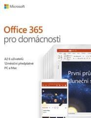 Microsoft Office 365 pre domácnosti CZ (6GQ-00898)