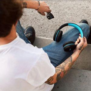 Niceboy HIVE XL vezeték nélküli fejhallgató kompakt szerkezet
