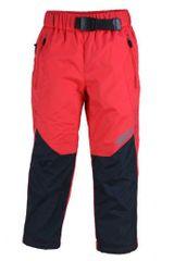 PIDILIDI Dívčí lehké outdoorové kalhoty - červené