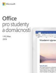 Microsoft Office 2019 pro studenty a domácnosti (79G-05078)