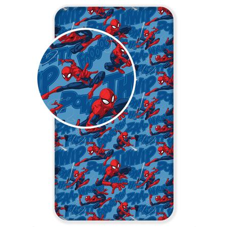 Jerry Fabrics bawełniane prześcieradło Spiderman 05, 90x200 cm