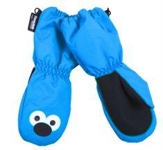 PIDILIDI Chlapecké palcové rukavice - modré