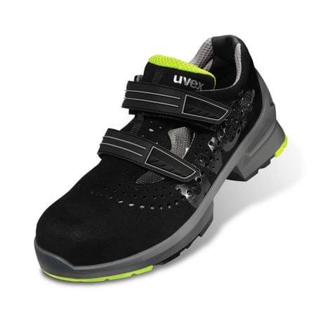 Uvex Pracovné sandále Uvex 1 S1 čierna 46