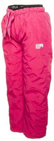 PIDILIDI dětské outdoor sportovní kalhoty 128 růžová
