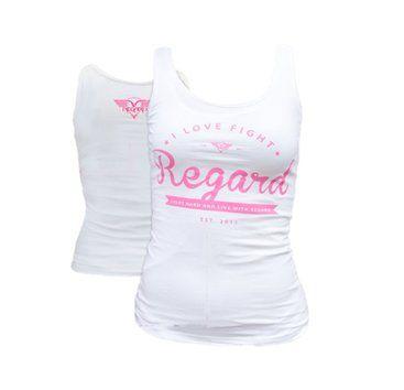 REGARD Tielko ELODY dámske, biela/ružová XL