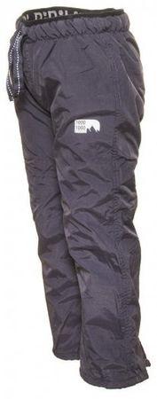 PIDILIDI dětské outdoor sportovní kalhoty 158 šedá