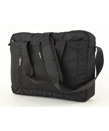 Swissonly torba za prenosnik, L, črna, 35 L, 41 x 31 x 10,5 cm