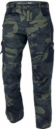CRV Maskáčové nohavice Crambe pánske maskáčová L