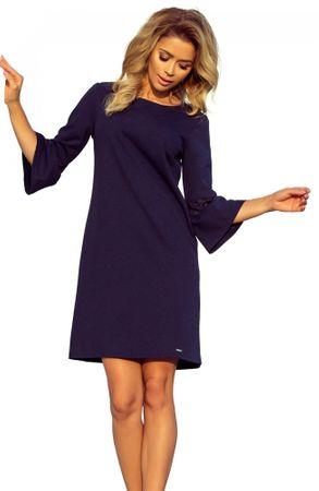 b9fa3fa87ca5 Numoco dámské šaty L tmavě modrá - Recenze