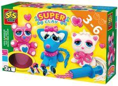 SES ljubke živali Super clay