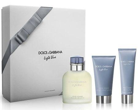 Dolce & Gabbana Light Blue Pour Homme - EDT 125 ml + borotválkozás utáni balzsam 75 ml + tusfürdő 50 ml