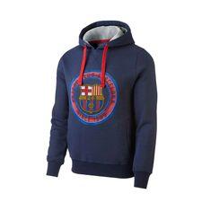 FC Barcelona Core pulover s kapuljačom