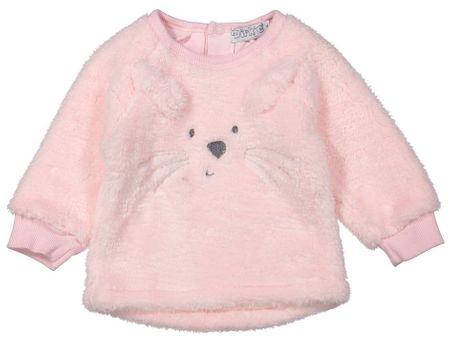 Dirkje dekliška majica z motivom zajca, 92, roza