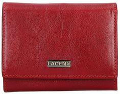 Lagen Női bőr pénztárca 50040 Vörös
