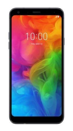 LG GSM telefon Q7 (LMQ610EM), crni