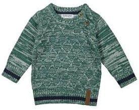 Dirkje chlapecký svetr žíhaný 116 zelená