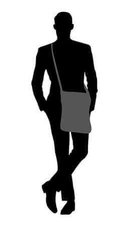 89f7c9dda3 Guess Pánská taška City Messenger HM6534 Black