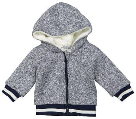 Dirkje jakna s krznom za dječake, siva, 98