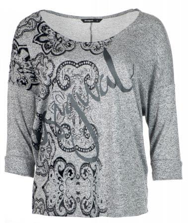 Desigual ženska majica Nisa, siva, M