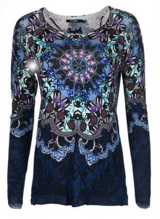 Desigual ženski pulover Munich, temno moder, S