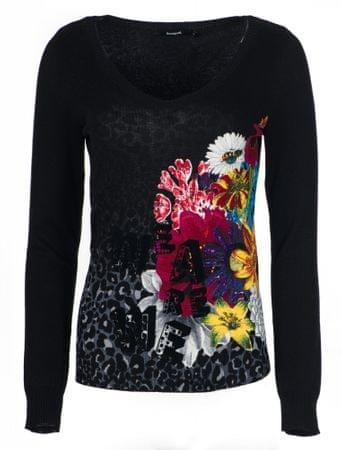 Desigual ženski pulover Paty, XS, črn