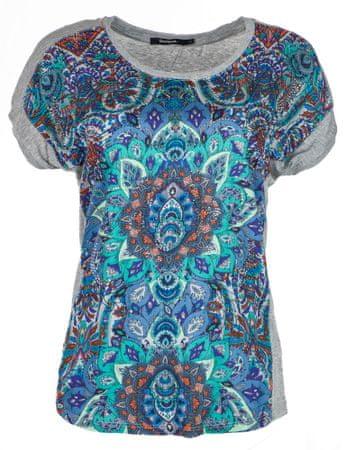 Desigual dámské tričko Sevilla XS šedá