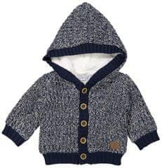 Dirkje chlapecký svetr s kožíškem