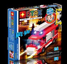Light Stax Stavebnica Hybrid Light-up Fire Truck