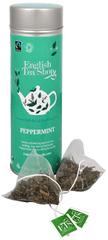 English Tea Shop Čaj Čistá máta - plechovka s 15 bioodbouratelnými pyramidkami