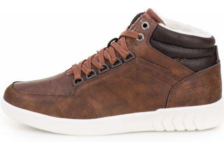Tom Tailor buty za kostkę męskie 41 brązowy