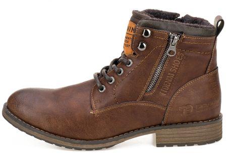 Tom Tailor buty za kostkę męskie 45 brązowy