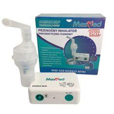 MesMed Przenośny Inhalator Pneumatczno-Tłokowy MesMed MM–508 NEBBIO MINI