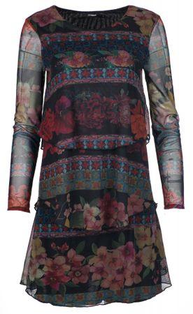 Desigual sukienka damska Logan XS wielobarwny