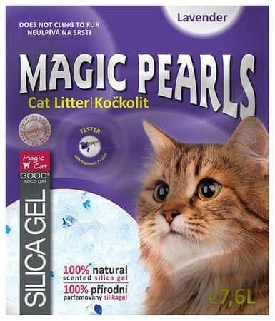 Magic żwirek Magic Pearl Lavender 7,6l