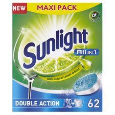 Sunlight mosogatógép tabletta All-in-One,