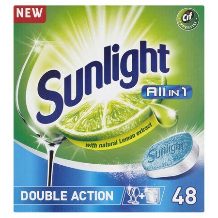 Sunlight mosogatógép tabletta All-in-One, 48 db