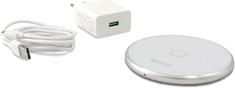 EPICO WIRELESS CHARGER s adaptérom 10W/7.5W/5W - biela 9915111100002