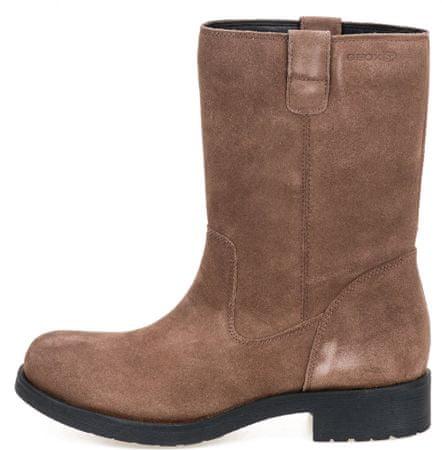 Geox dámská kotníčková obuv Rawelle 36 hnědá