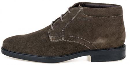 Geox pánská kotníčková obuv Brandolf 43 hnedá