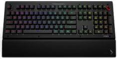 Das Keyboard tipkovnica X50Q, Gamma Zulu Soft, USB, črna, US