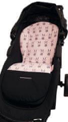 BOMIMI podloga za otroški voziček Bunny Pink, roza - Odprta embalaža