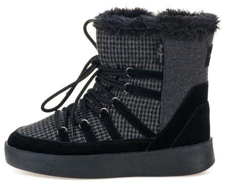 Pepe Jeans buty zimowe damskie Brixton Snow 36 ciemnoszary