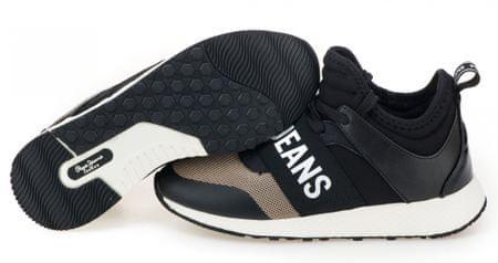 0393433ba2 Pepe Jeans dámské kotníčkové tenisky Koko Logo 40 čierna